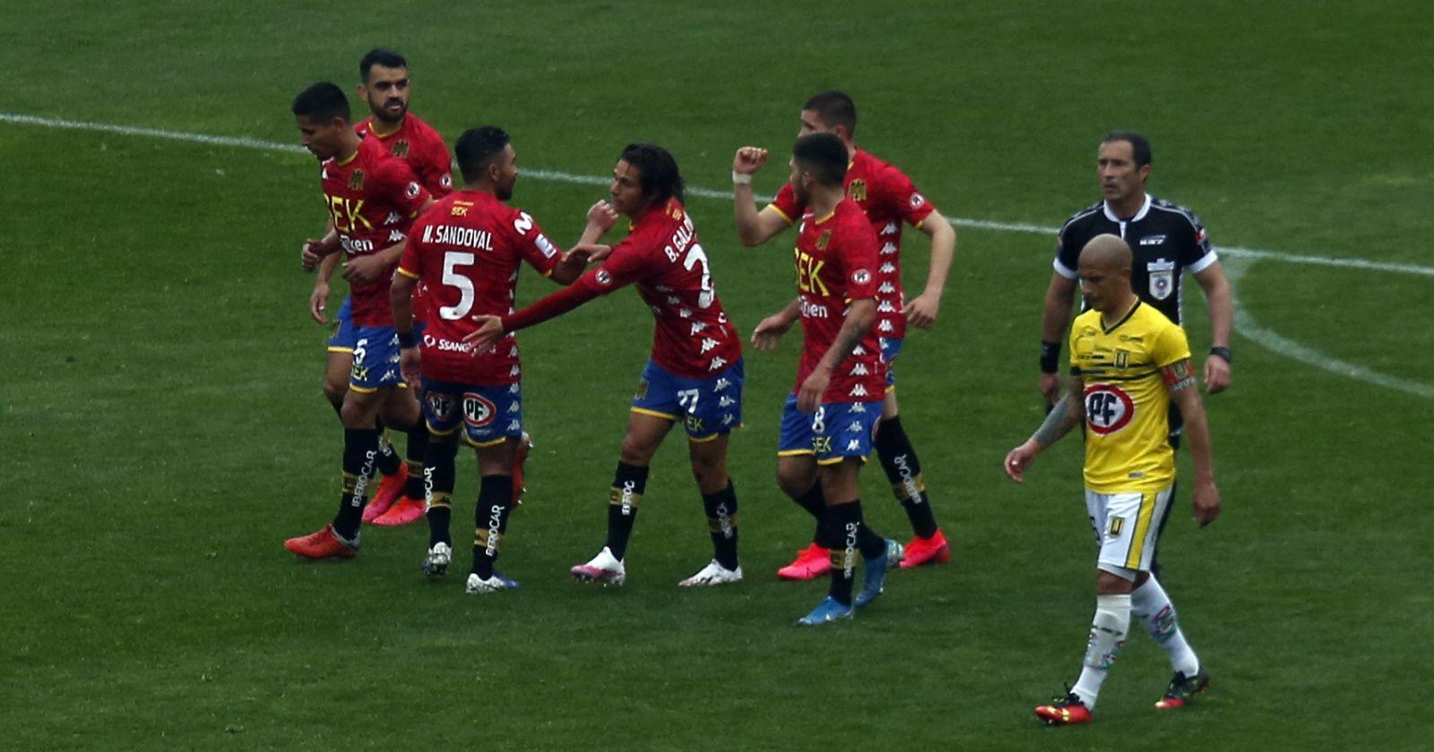 Unión Española venció a la Universidad de Concepción y escaló al tercer lugar de la tabla