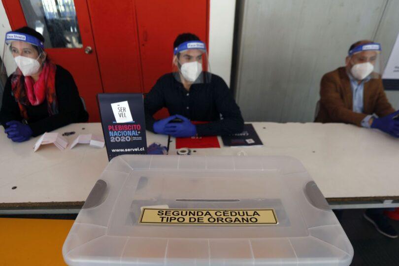 Las precauciones sanitarias para votar en el plebiscito del 25 de octubre