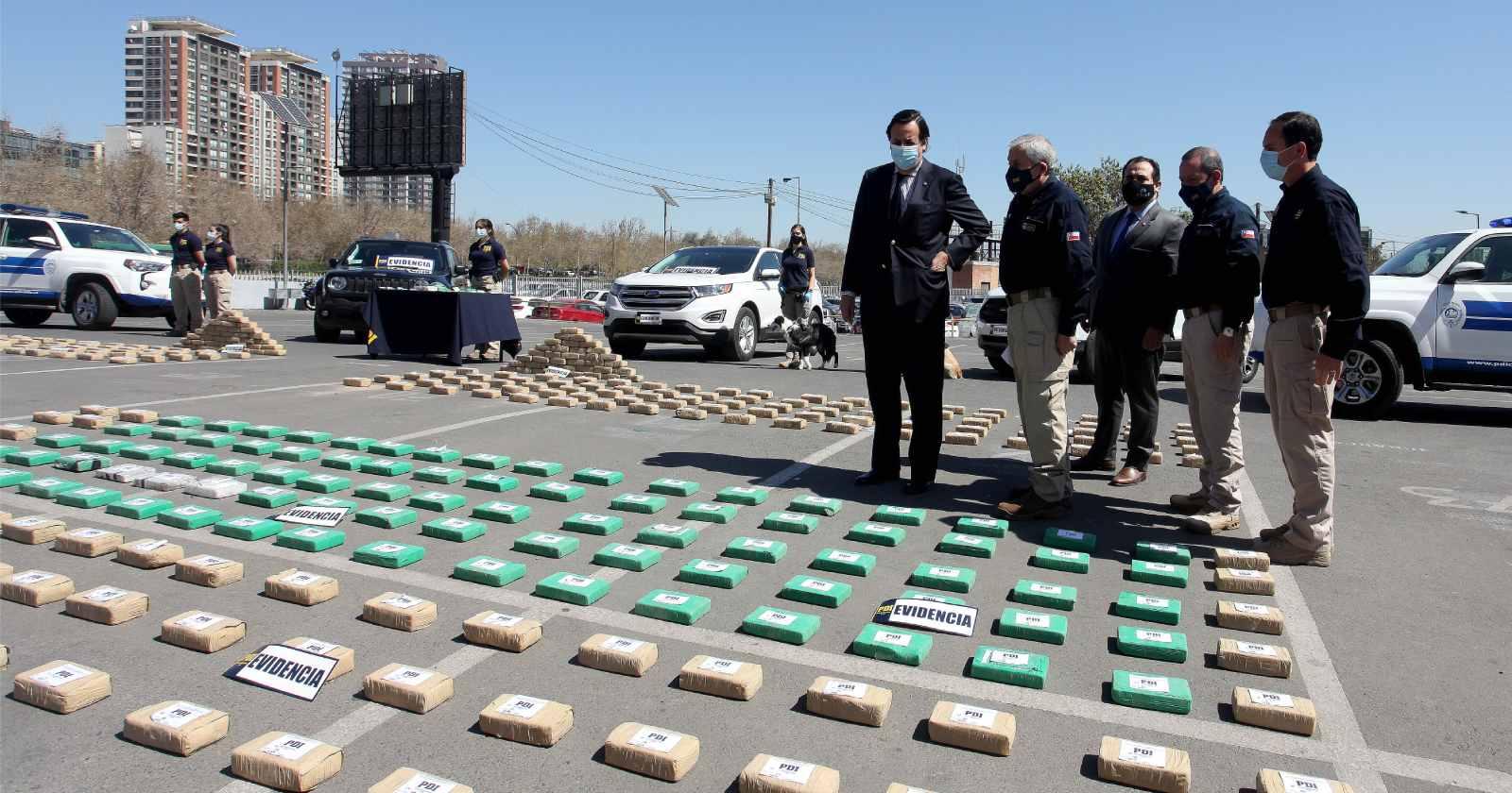 Incautaron más de 590 kilos de droga: banda era manejada desde la cárcel