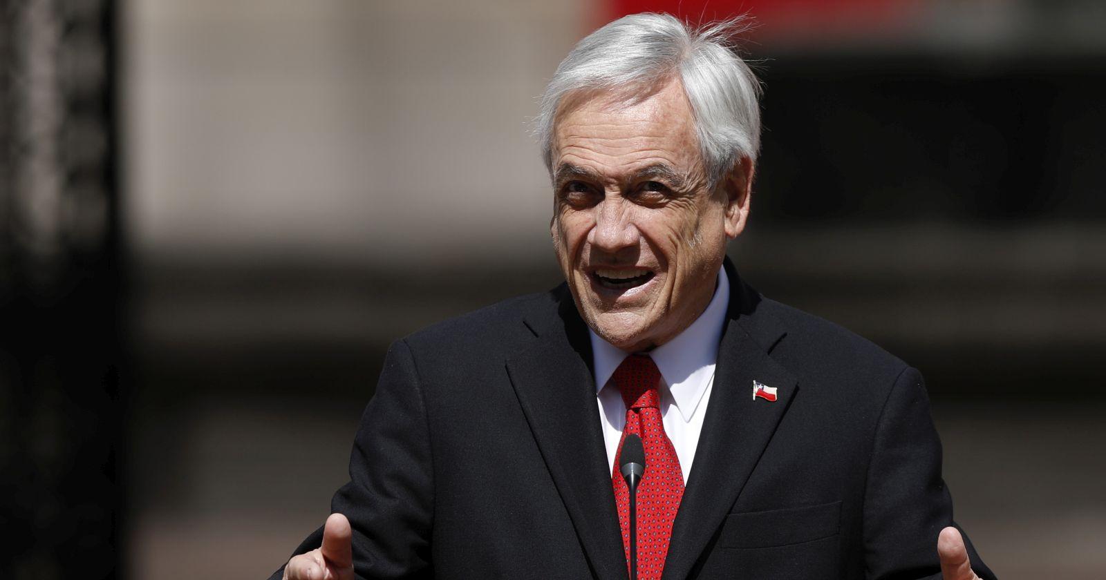 """Presidente Piñera por las celebraciones de Fiestas Patrias: """"Les pido que lo hagamos cuidando nuestra salud"""""""