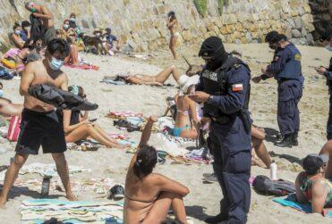 Fiscalizaciones en las playas terminan con un detenido en Concón