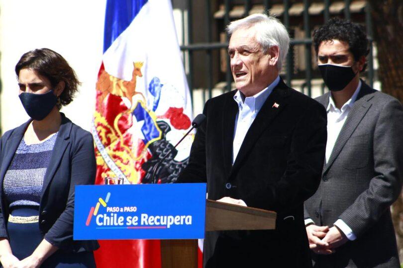 Piñera lanza plan de subsidio para recuperar un millón de puestos de trabajo