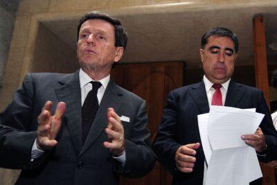 El cruce entre Carlos Larraín y Mario Desbordes por la presidencia de RN