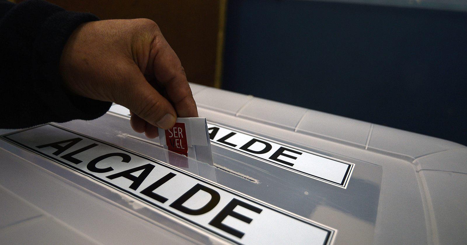 Los candidatos a las alcaldías afectadas por la Ley de Reelección