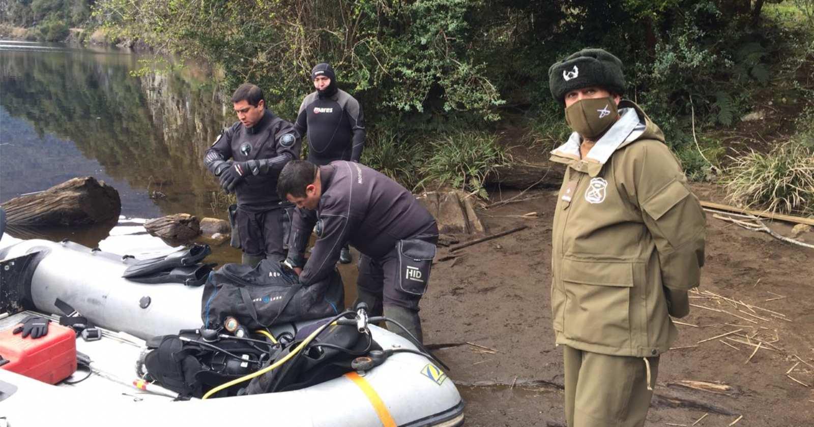 Aysén: encuentran cuerpo de joven desaparecido tras caer al río Los Palos