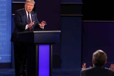 Los momentos más tensosque dejó el debate entre Joe Biden y Donald Trump