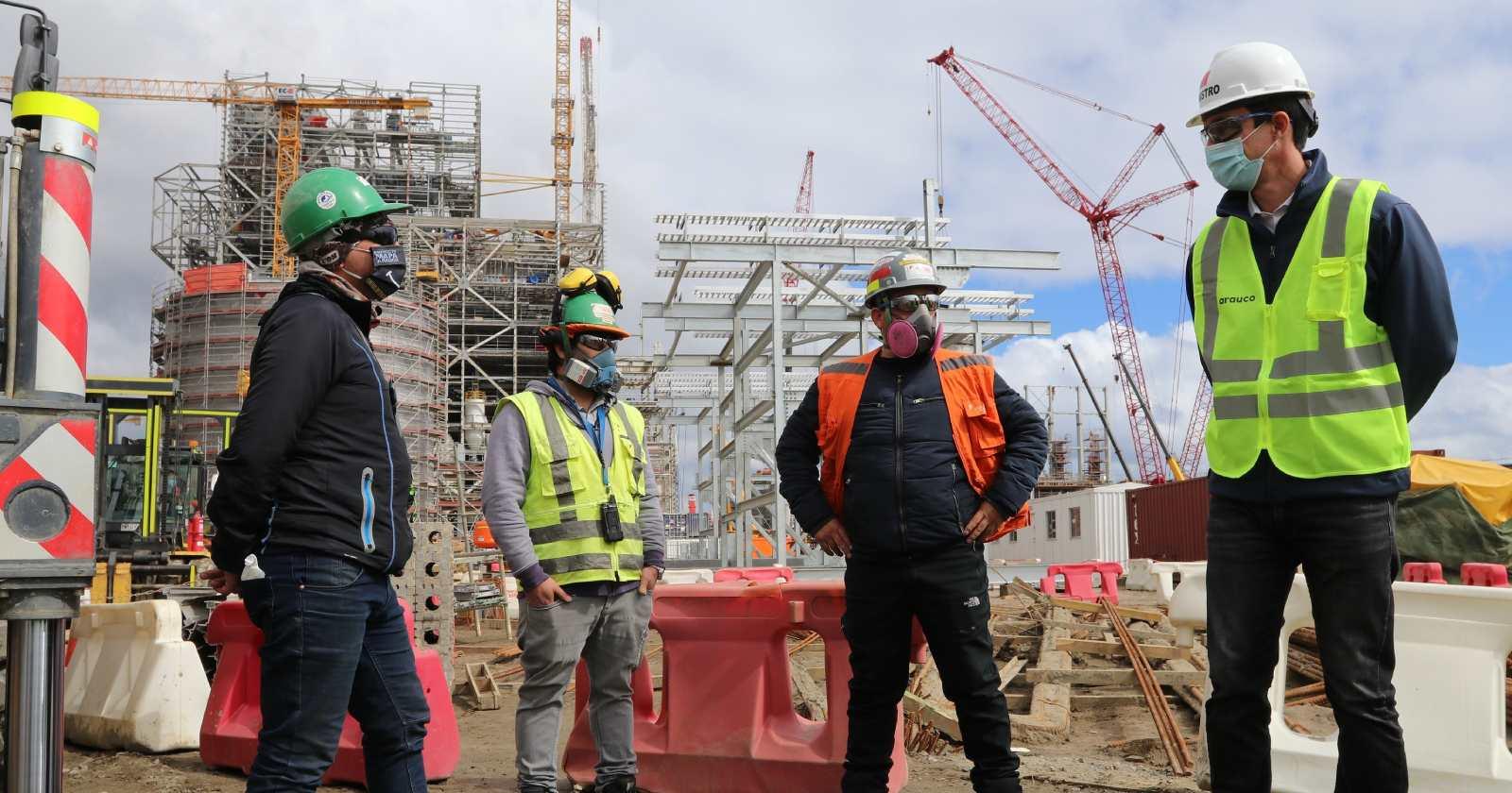 Ministro Jobet visita trabajos de construcción de proyecto MAPA y destaca su aporte a la generación de energía limpia