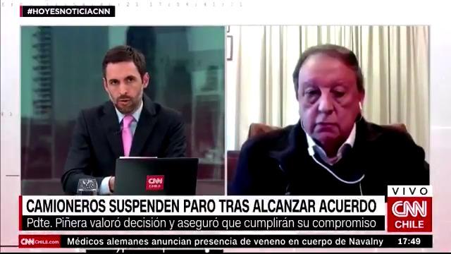 VIDEO – El duro cruce entre Daniel Matamala y Sergio Pérez por bloqueos en paro camionero