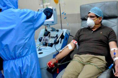 U. de Chile inicia tratamiento de plasma con alto nivel de anticuerpos en pacientes con COVID-19