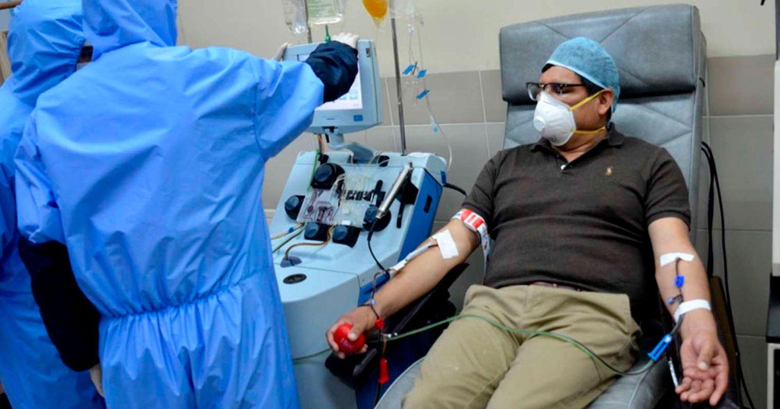 U. de Chile inicia tratamiento de plasma con anticuerpos en pacientes con COVID-19