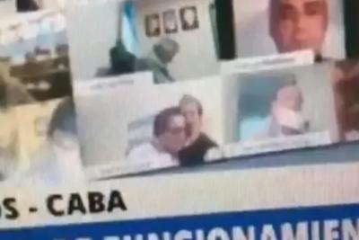 VIDEO – Diputado argentino es sorprendido en situación sexual en sesión virtual