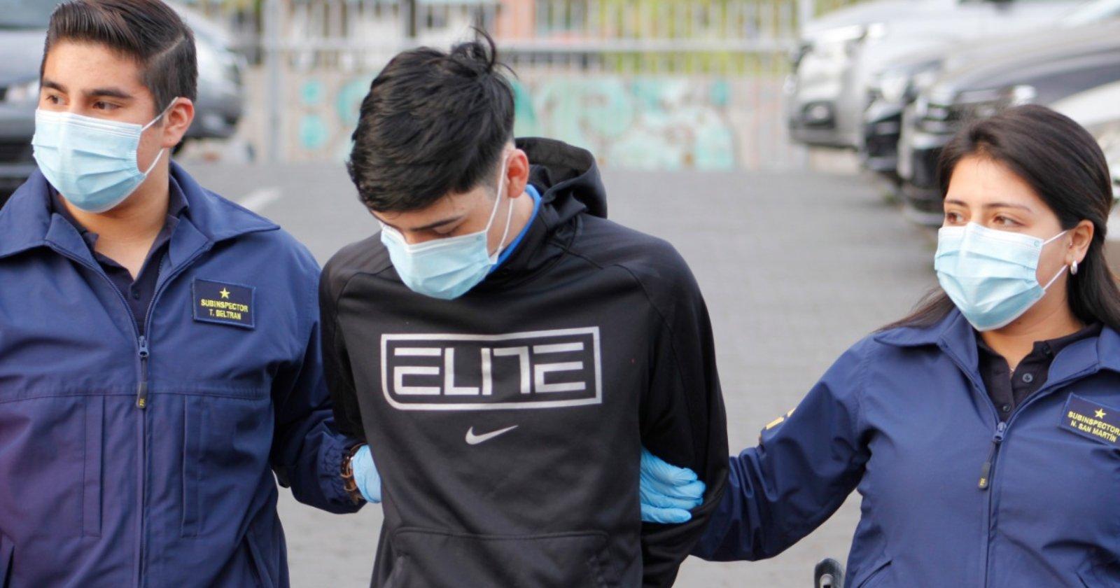 Segundo detenido por robo a persona con movilidad reducida en Peñalolén a quien destrozaron prótesis