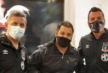 Acusan a Colo Colo de romper las medidas sanitarias por visita de Gustavo Biscayzacú en Uruguay