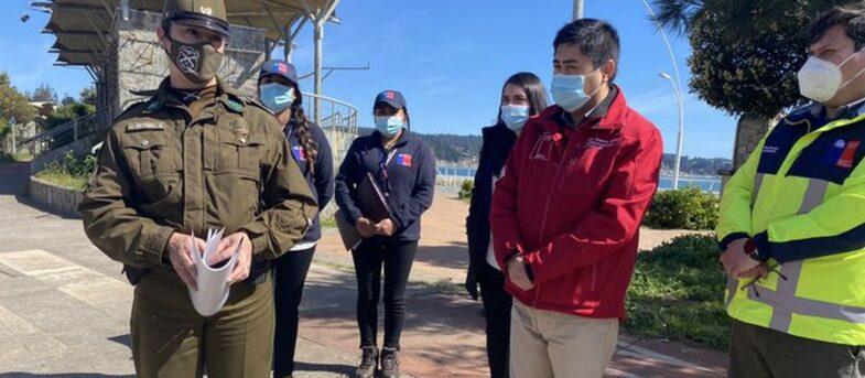 Gobernador de Concepción dio positivo por COVID-19