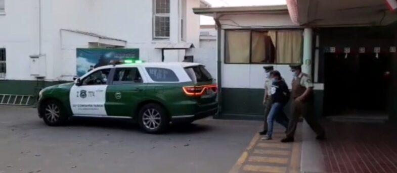 Hombre fue detenido por apuñalar a su pareja no vidente en Renca