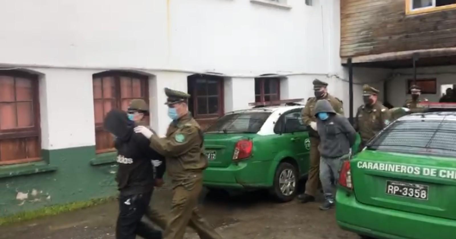 Tres detenidos en Cañete por homicidios frustrados y robo con violencia: tenían armas de grueso calibre y chalecos antibalas