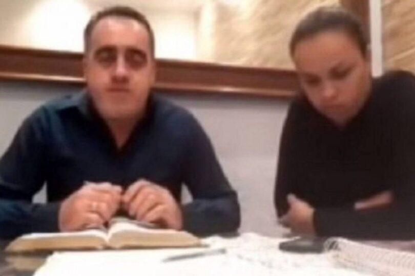 Pastor evangélico agredió a su esposa mientras transmitía en vivo en sus redes sociales