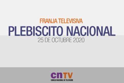 VIDEO – Esta fue la primera franja emitida para el plebiscito del 25 de octubre