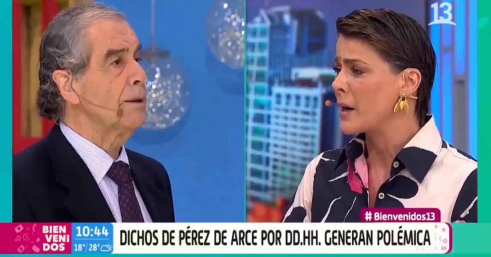 Golpe a Canal 13 por expulsión de Hermógenes Pérez de Arce del Bienvenidos