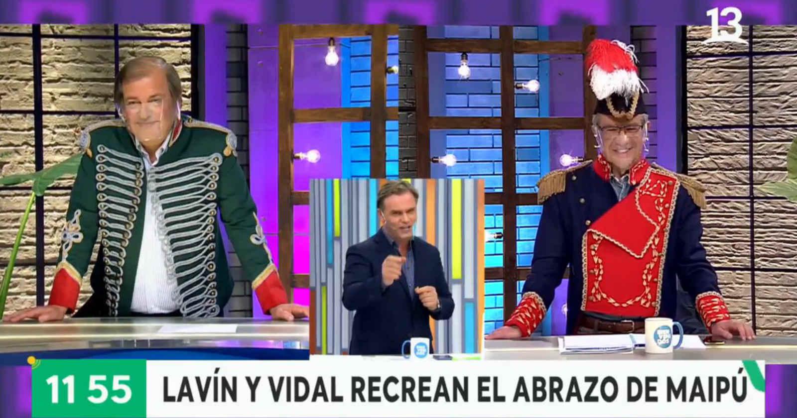 """VIDEO – """"Me da vergüenza ajena"""": Rodolfo Carter se lanza contra Joaquín Lavín por disfrazarse de O'Higgins"""