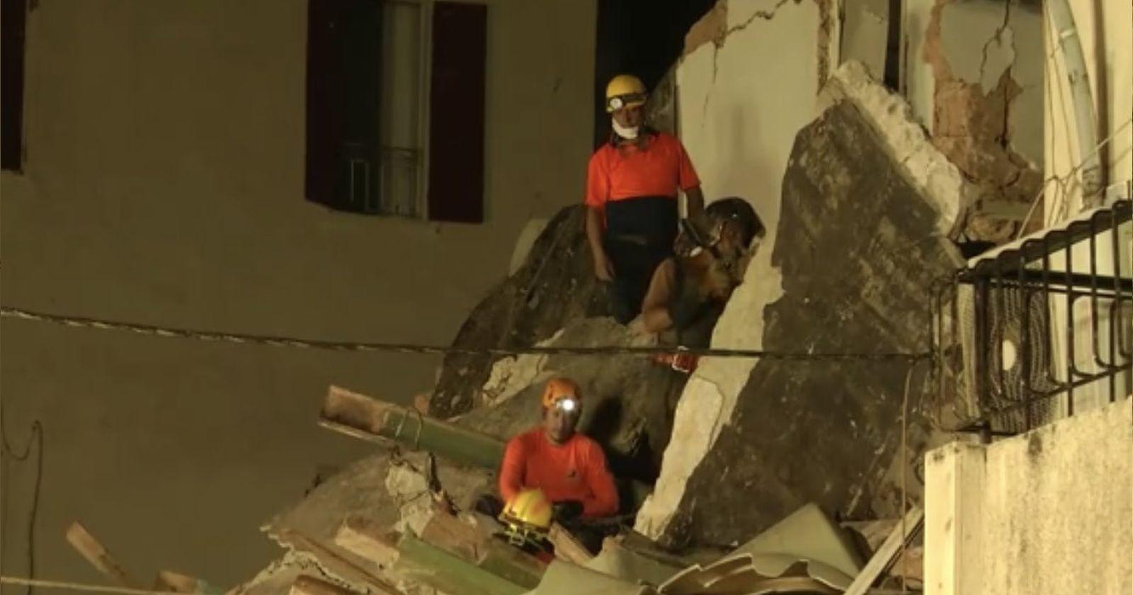 VIDEO – Rescatistas chilenos investigan señales de vida en medio de los escombros de Beirut