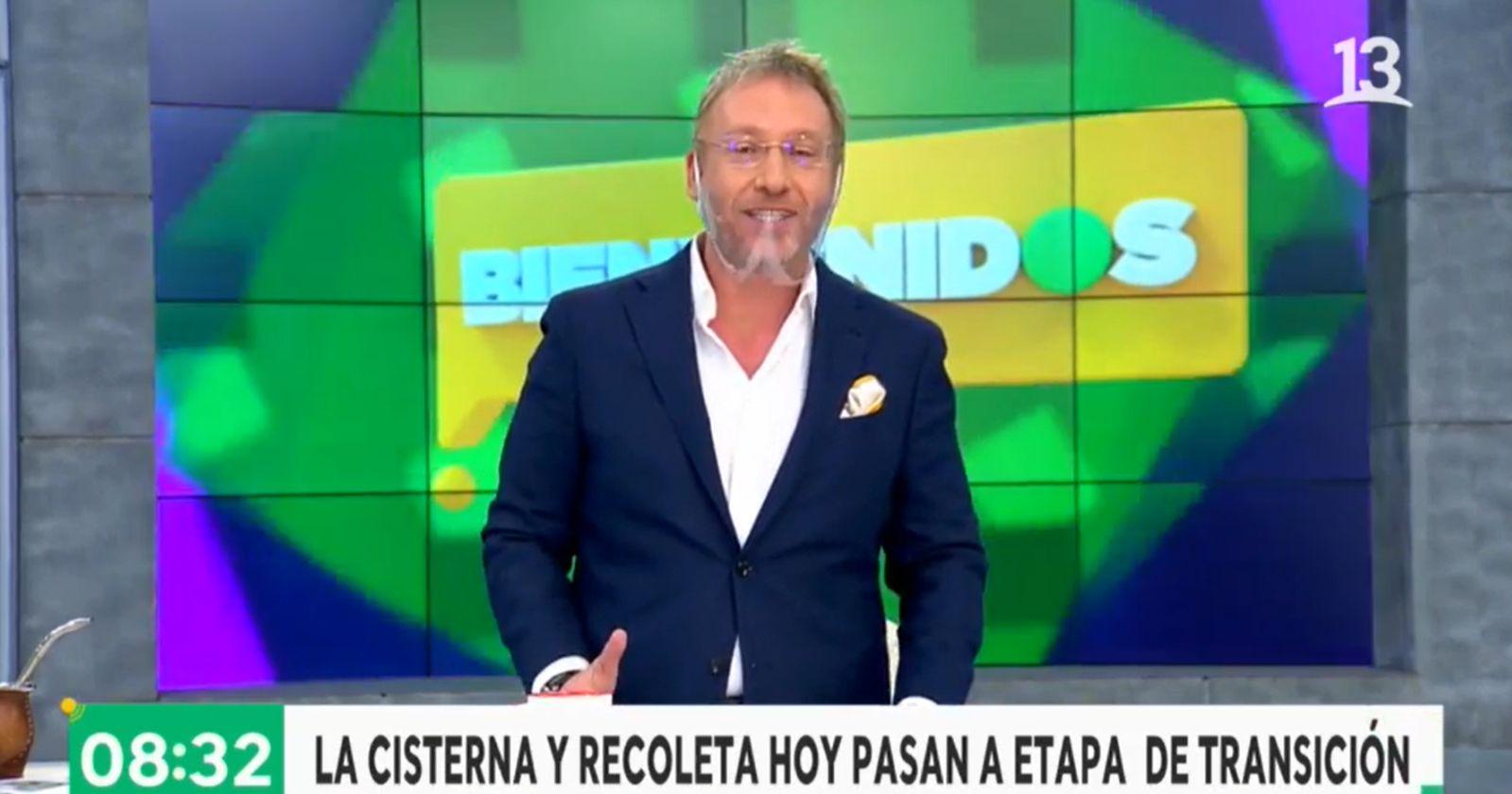Martín Cárcamo volvió a Bienvenidos para hacer dupla con Amaro Gómez-Pablos