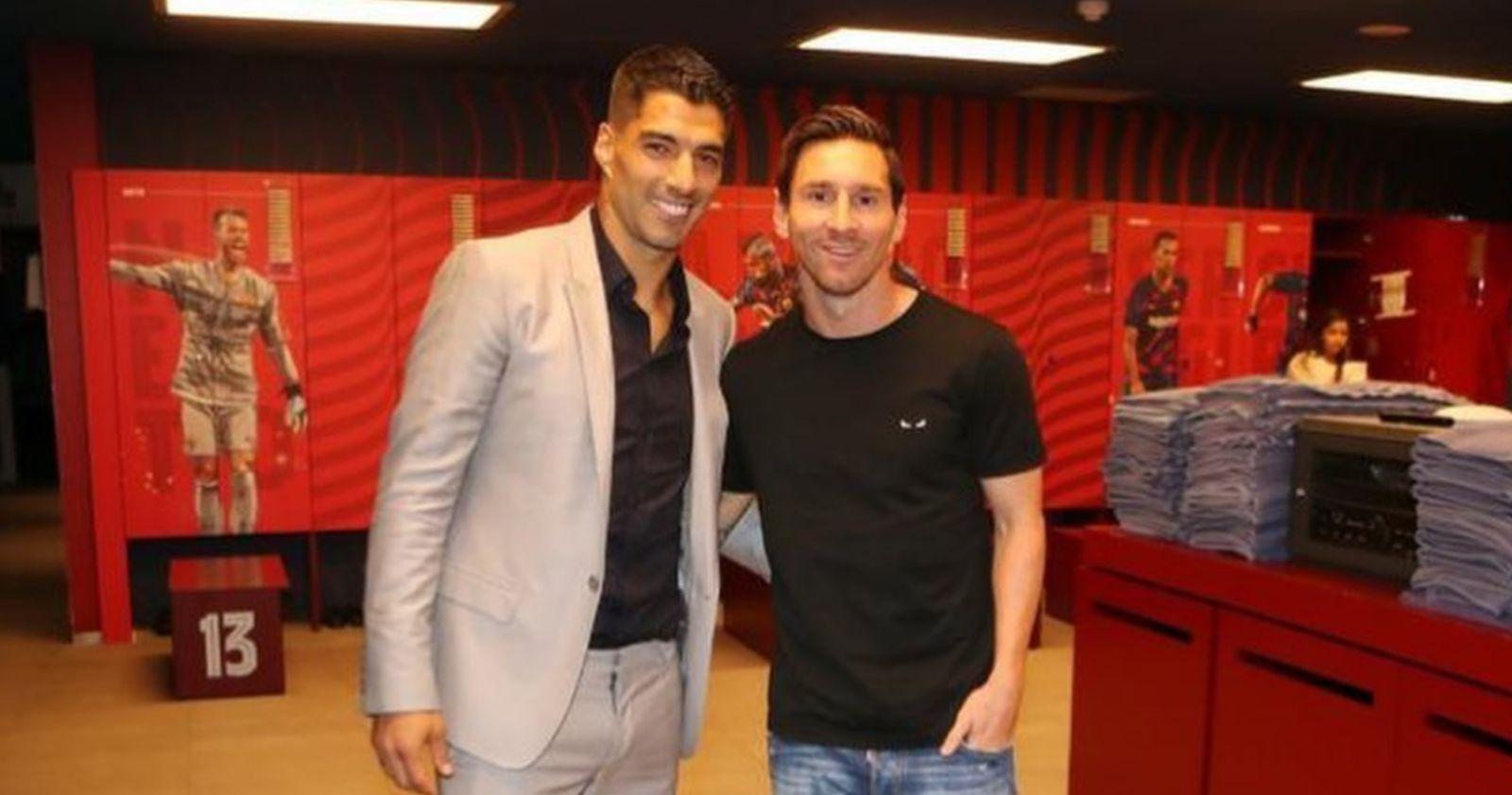 Lionel Messi se despidió de Luis Suárez con una dura crítica al FC Barcelona