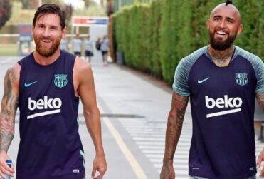"""La despedida de Lionel Messi a Arturo Vidal: """"El vestuario te va a extrañar"""""""
