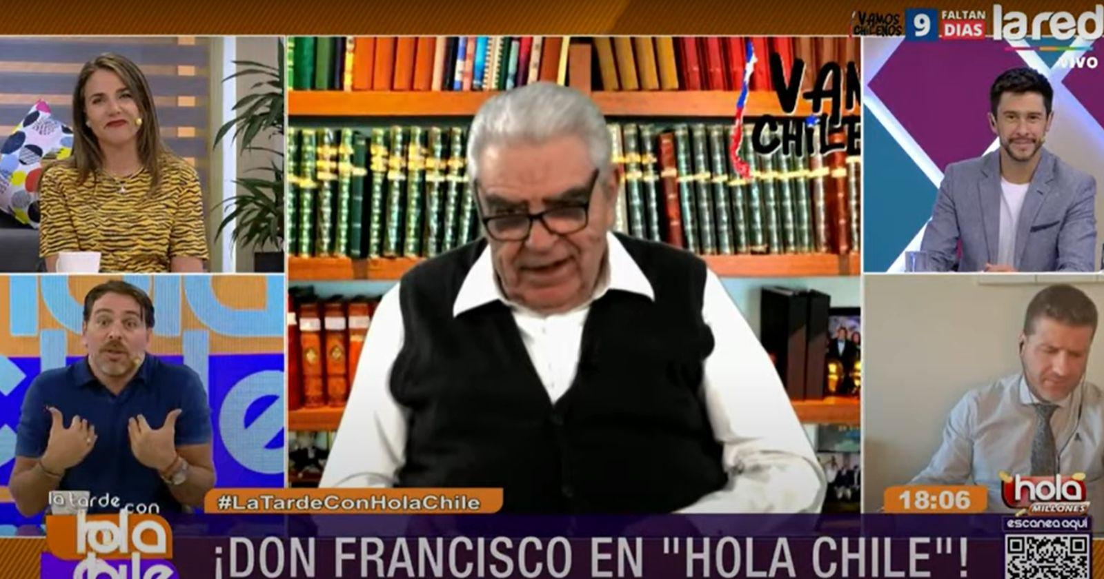 """VIDEO – Don Francisco """"encaró"""" a José Antonio Neme: """"Dijiste que desde mí en adelante la TV era una mierda"""""""
