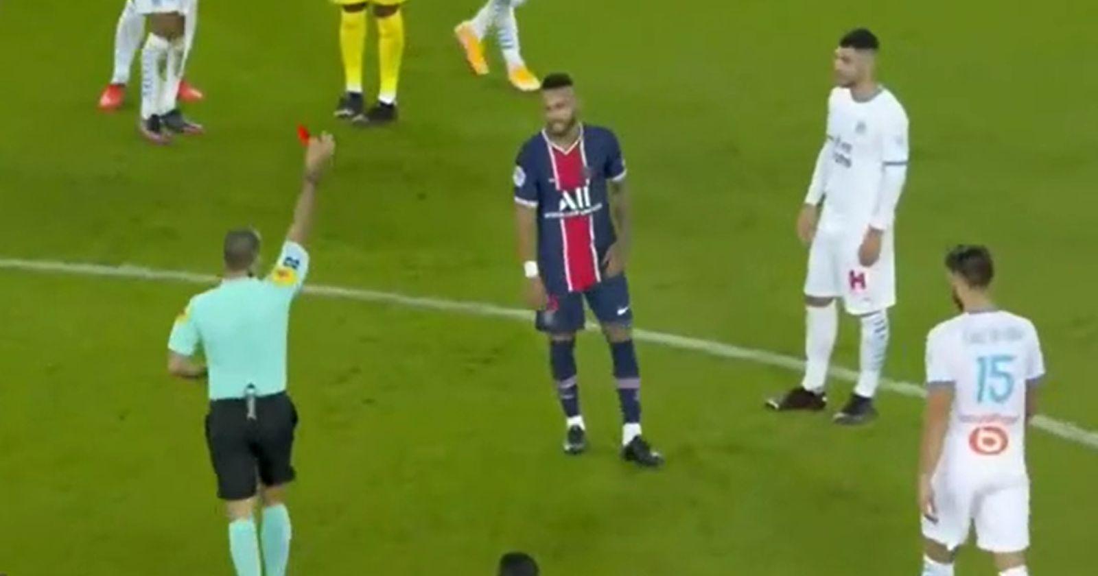 Jugador del Marsella negó las acusaciones de Neymar sobre racismo