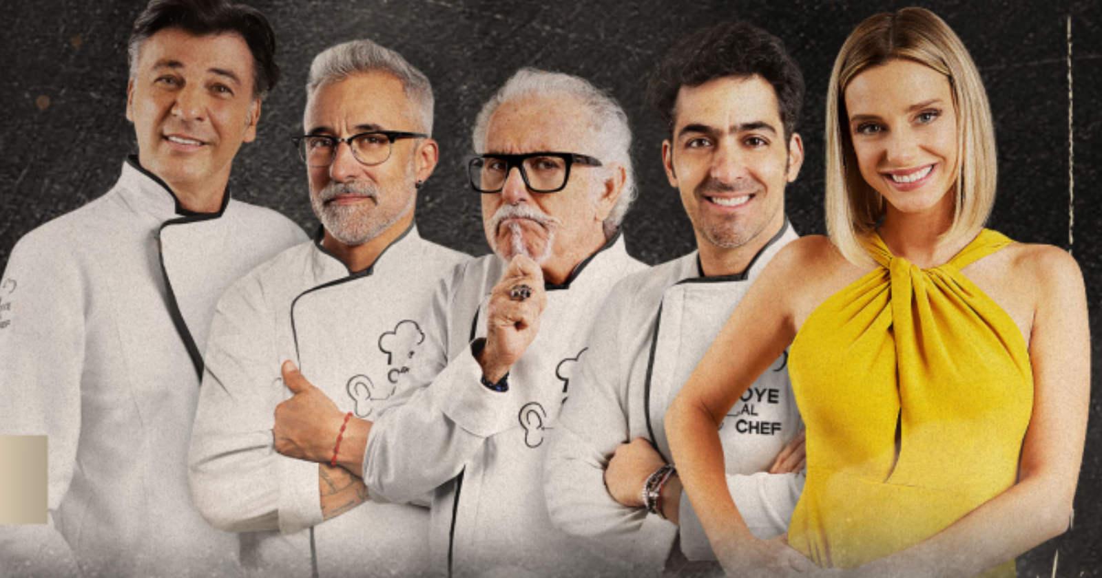 Conoce a los dos famosos que participarán en el debut de Oye al Chef