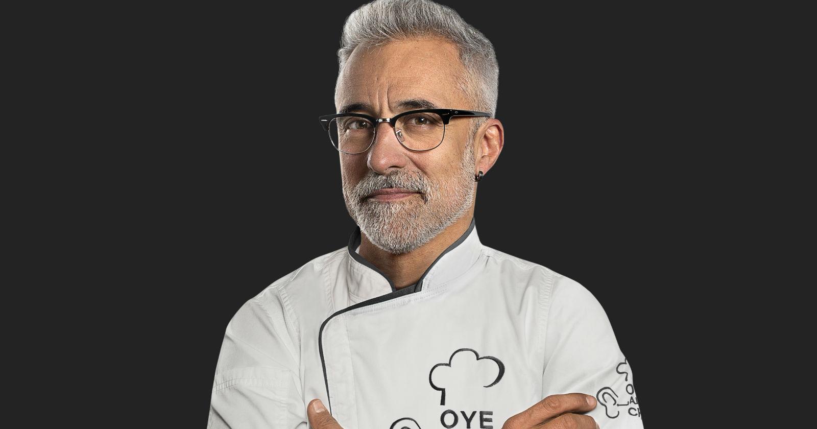 Sergi Arola se suma a Oye Al Chef de CHV y confirman fecha de estreno