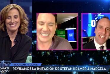 Marcela Cubillos habló por primera vez de las imitaciones de Stefan Kramer