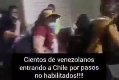 ¿Están llegando venezolanos para preparar un nuevo estallido social?