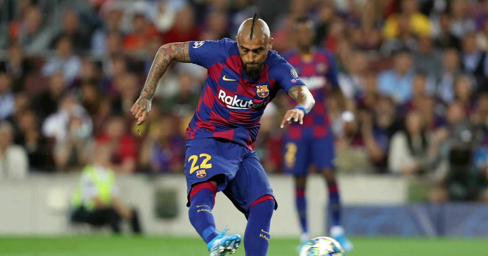 La despedida de Arturo Vidal al Barcelona: