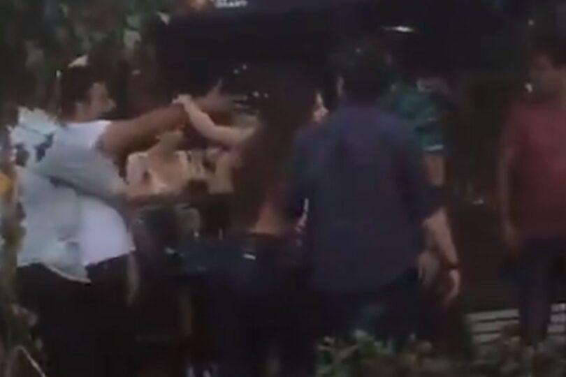 Pelea en zona de restaurantes en Vitacura dejó a una mujer golpeada