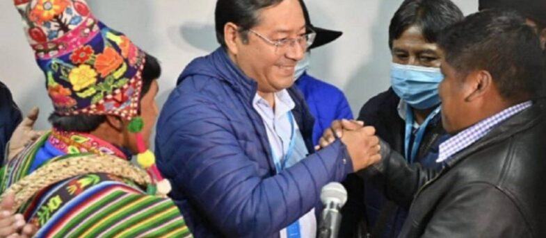 """La izquierda chilena celebra el triunfo del """"delfín"""" de Evo Morales en Bolivia"""