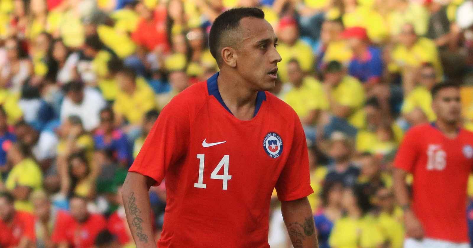 Fabián Orellana fue liberado de la nómina de la Roja
