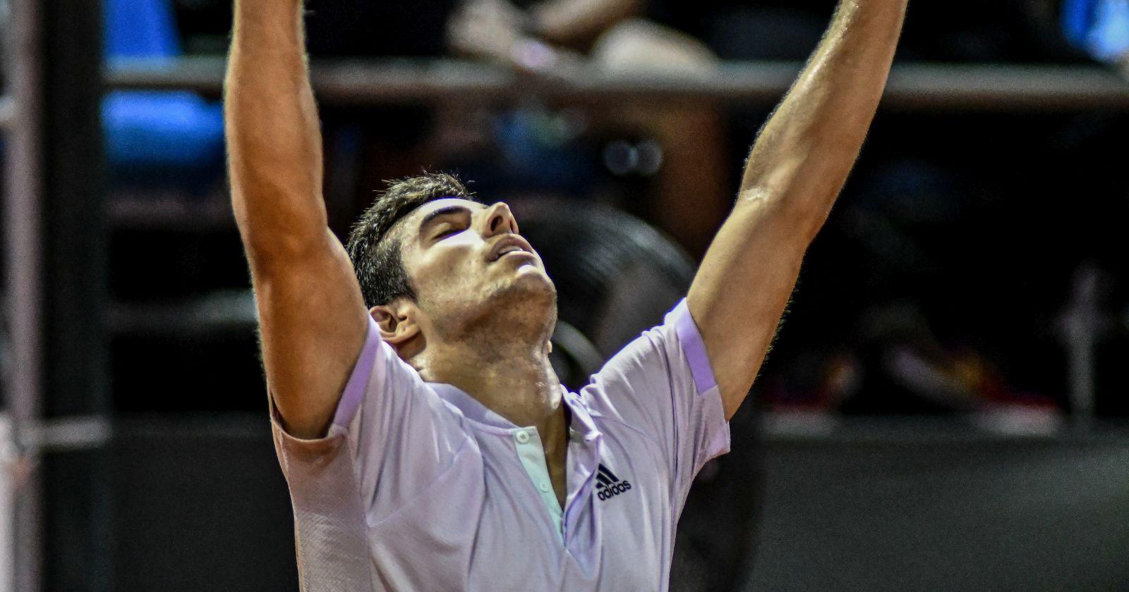"""""""Cristian Garin avanzó a la tercera ronda de Roland Garros tras vencer a Marc Polmans"""""""