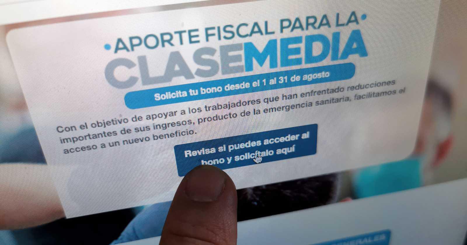 437 mil personas obtuvieron el Bono Clase Media sin cumplir requisitos: SII pide devolver los montos