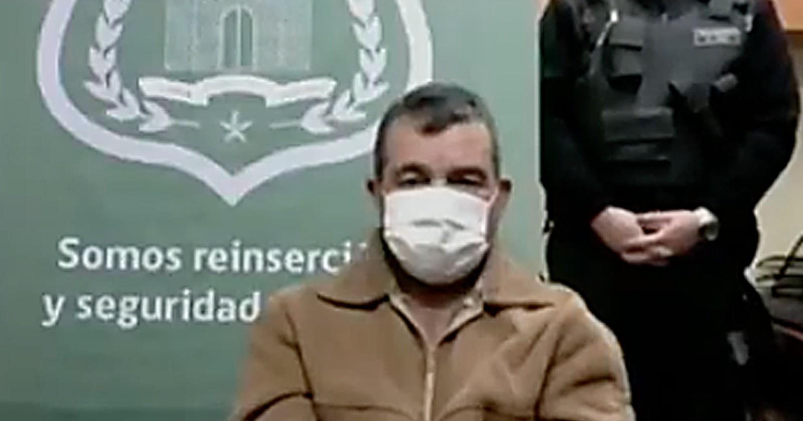 """""""La carta con que Hugo Bustamante solicitó visitar a Denisse Llanos"""""""