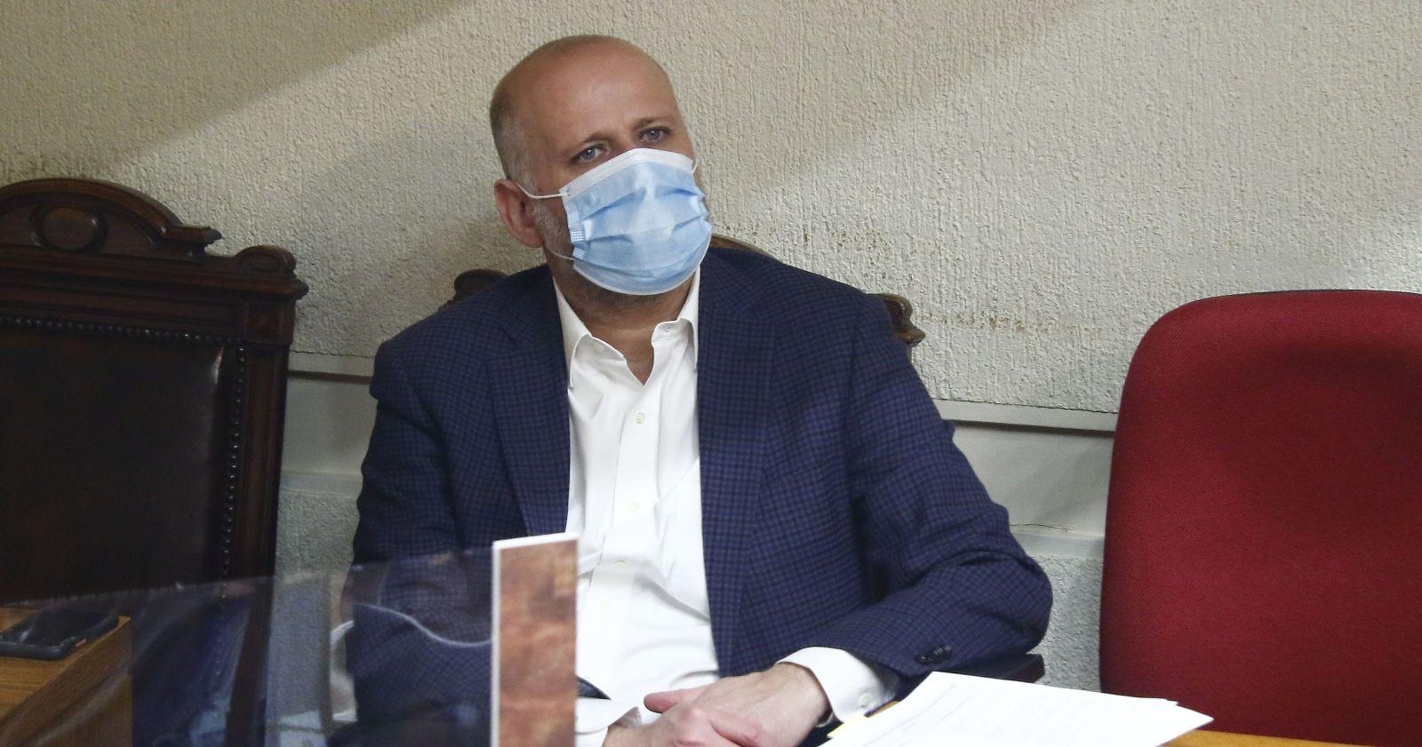 Gobierno condenó las amenazas contra la familia del senador Álvaro Elizalde