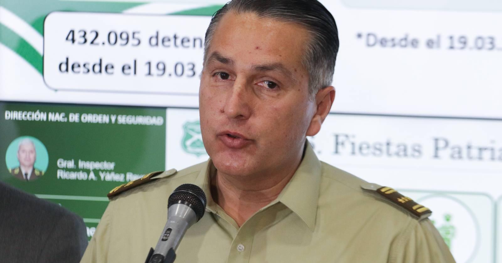 Parlamentarios condicionan presupuesto de Carabineros a renuncia de Mario Rozas