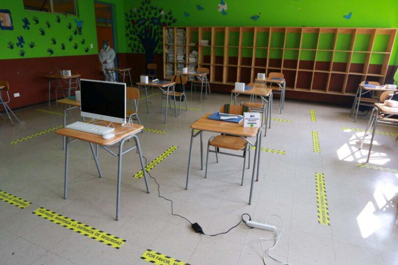 Mineduc confirma caso de COVID-19 en liceo de Curacautín