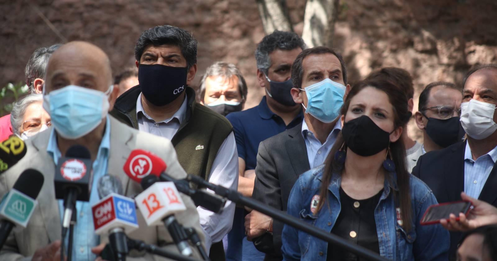 """""""No a la violencia"""": el llamado de autoridades, vecinos y locatarios de la zona cero a pocos días del 18 de octubre"""