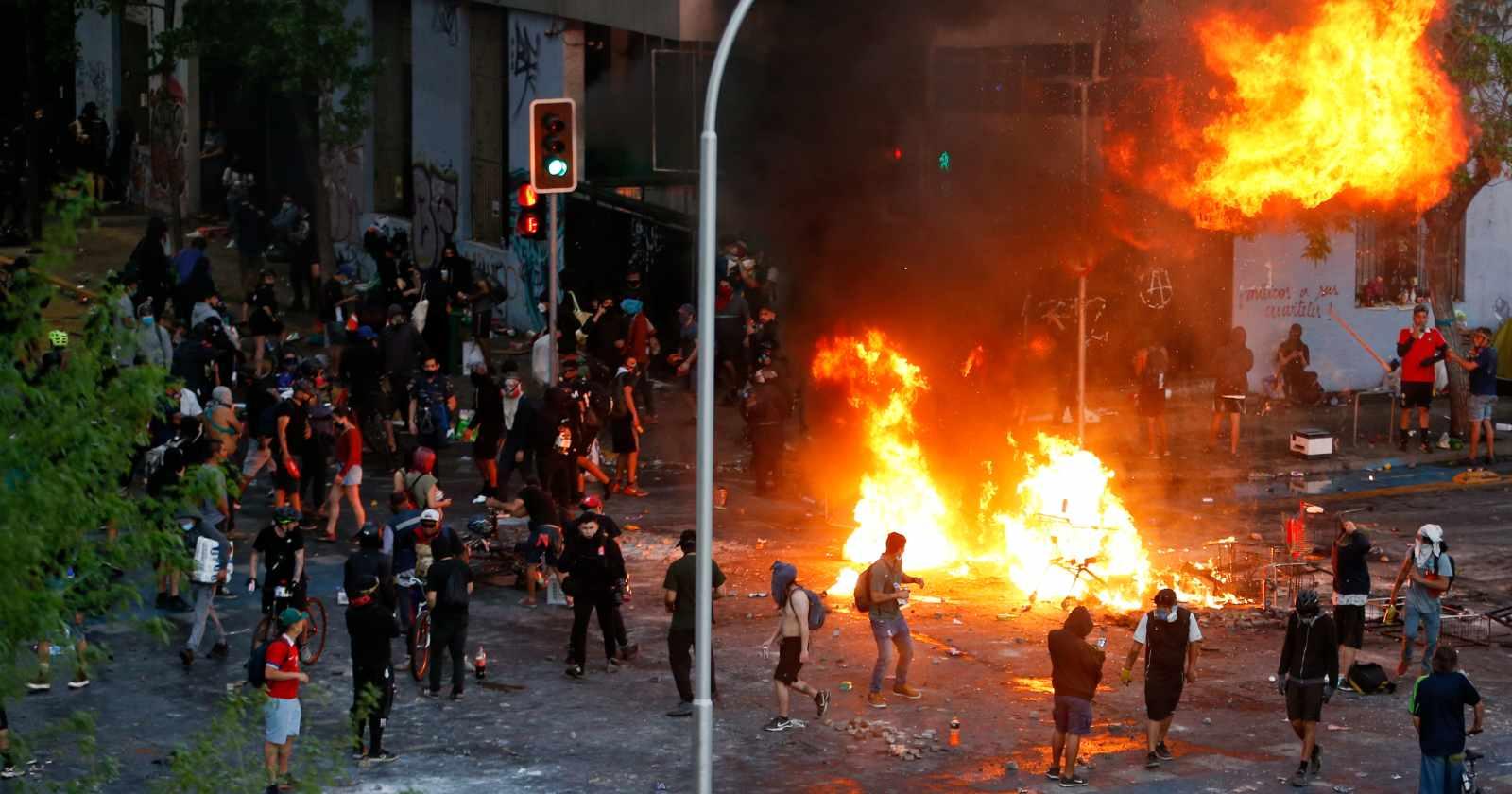 Interior registra 107 eventos graves y 580 detenidos: