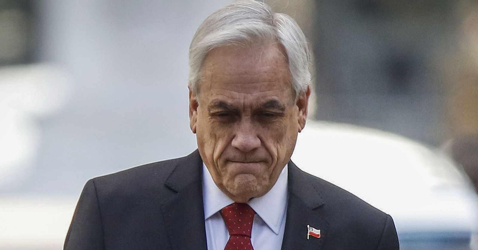 Cadem: aprobación de Piñera cae a 16% y sube desacuerdo con manifestaciones violentas