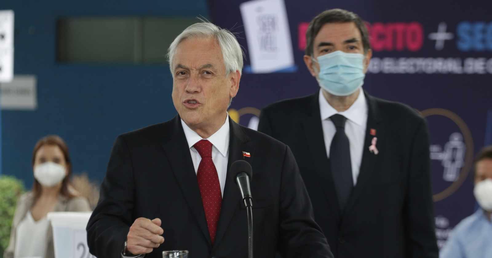 """Piñera por 18-O: """"No basta con condenar la violencia; debemos sancionar a quienes la promueven"""