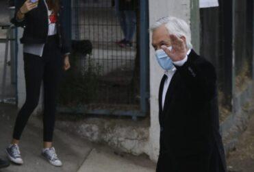 """Piñera tras votar en el plebiscito: """"Creo que la inmensa mayoría de los chilenos queremos cambiar nuestra Constitución"""""""