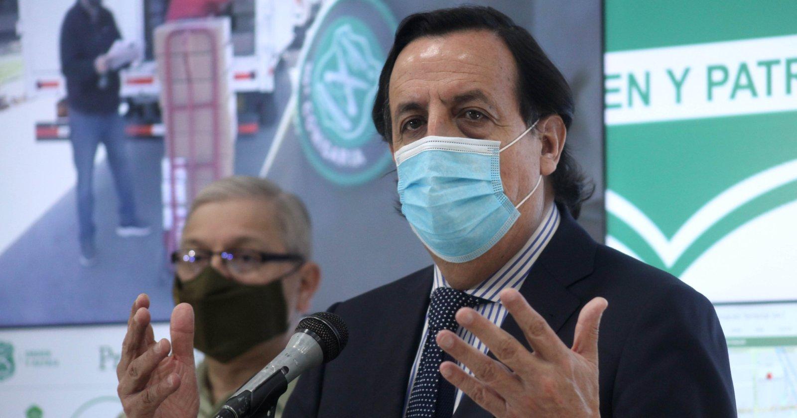 """Víctor Pérez calificó de """"ejemplar"""" la jornada del plebiscito: """"Hechos de violencia fueron ínfimos"""""""